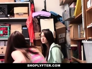 Shoplyfter- Hot Teens Fuck Stranger
