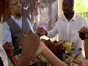 Black couple hardcore xxx Squirting ebony patron's daughters are t