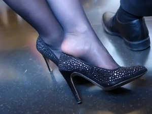 Feet in Nylon - Video 25