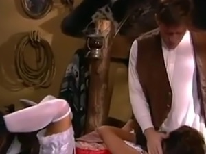 British MILF Nici Stirling is a whore in a FMM threesome
