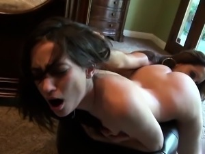 Office sex with Francesca Le and Georgia Jones