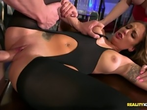 Layla London is wonderfully gorgeous and she needs an audience during sex