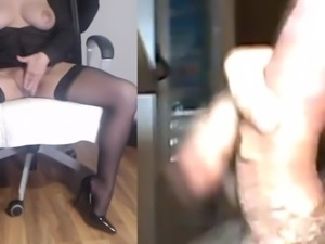 Wife Milking Hot cock 7
