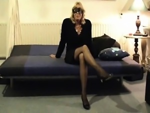 Mature hairy amateur fucked during sexdate