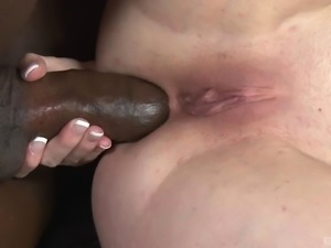 Great interracial group sex session with petite Jennifer White