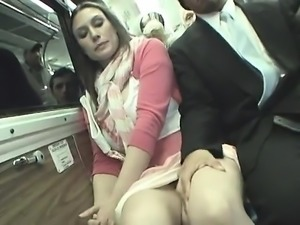 Hot Brunette Public Sex