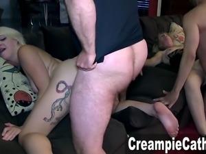 Creampie Gangbang For Marilyn