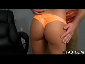 Leggy angel gets willing for sex games