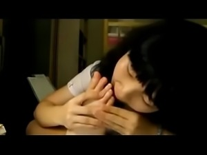 Cute Korean chick sucking herself - KawaiiPornie.ml