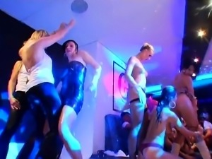 Lusty hunks are having banging with hotties during orgy