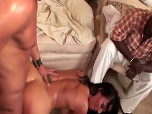 Cuckolding busty wife goes crazy for boner