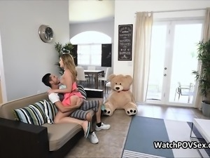 Cheating assy gf busted on video