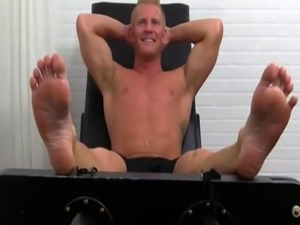 French gay man sex video Johnny Gets Tickled Naked