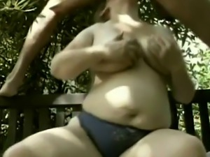 A nasty pregnant housewife sucks and rids husband's hard dick in a