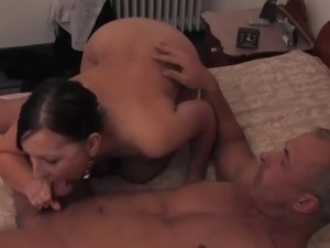 My neighbour fucked me at home