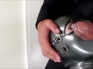 Fucking my little doll in the suitcase