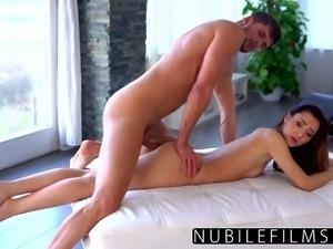 NubileFilms - Fucked Roommates Boyfriend After She Left