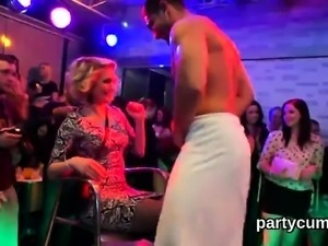 Hot nymphos get fully insane and naked at hardcore party