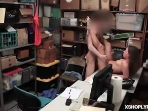 LP Officer screwing Brooke Bliss pussy
