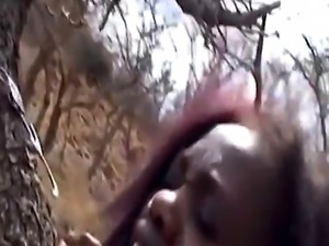 Nipple torment and hardcore fucking with busty African slut