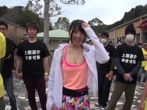 Huge slut Ai Uehara loves receiving anyone's boner in her coochie