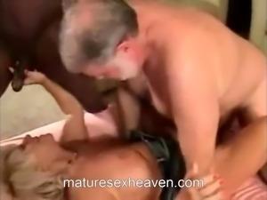 Granny Interracial Action