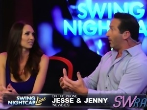 Swingers arrive at talk show to discuss their experience