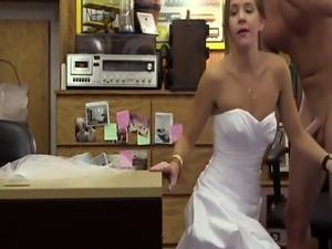 Girl fucks bf with strap on A bride's revenge!