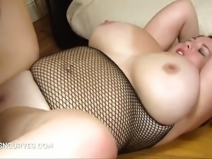 Young busty takes an enormous BBC