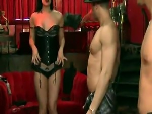 Swingers get ready to kick off the night the best way ever