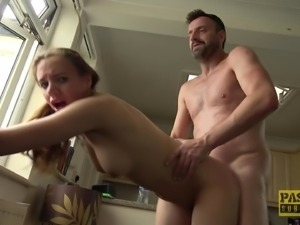 Cutie Susi Star having her pussy poked with fingers and a dick