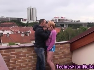 Dutch teen gets plowed