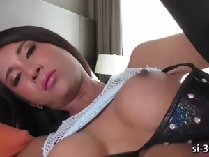 Busty lboy cartoon candy with pleasure stroking her directorial injection