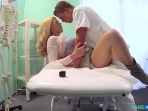 doctor fucks his patient until she feels better