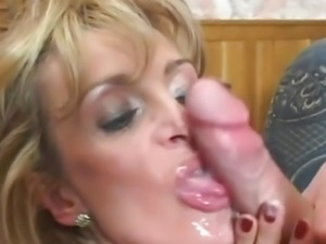 Hot milf and her younger lover 910