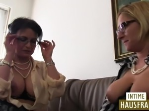 Milf with big tits