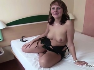 Homemade Sextape of German Milf and Husband on Holiday