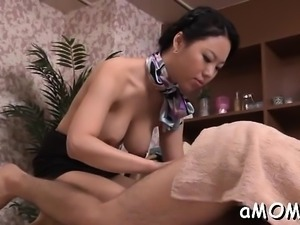 Milf with forms deals 10-pounder like a mistresse or sex