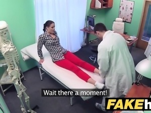Fake Hospital Doctor prescribes sticky facial