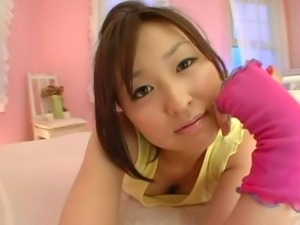 Yukiko Suo is a naughty Japanese whose hairy hole needs attention