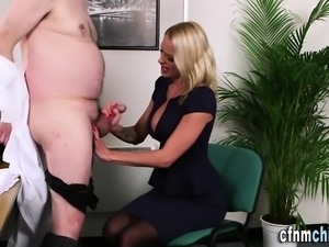 Cfnm brit babes in office