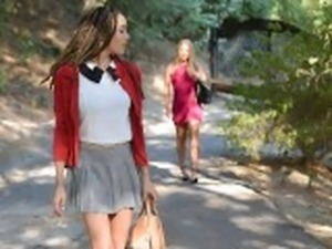 BlackValleyGirls- White Girl Gets Dumped For Preppy Ebony Teen