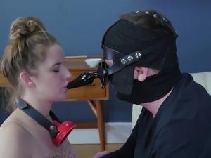 Slave Jessica Kay having her soaking wet pussy smashed good