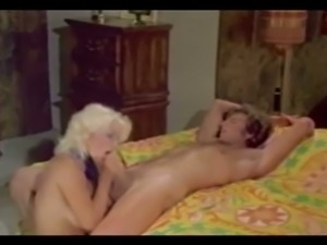 Gorgeous bosomy and sultry blonde milf rides on a dick