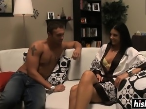 Horny MILF loves his young pecker