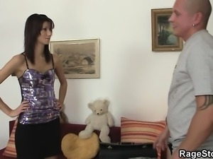 Her cheating cunt gets gets drilled angrily