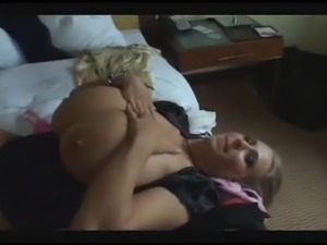 French big tits blonde milf, very, very, very huge tits