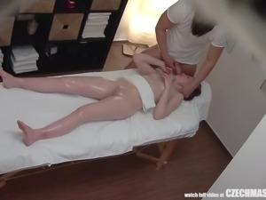 When she came through my door to get a massage, I knew I had to see, if I...