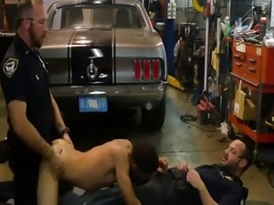 Naked hairy gay police men photos first time Get plowed by the police