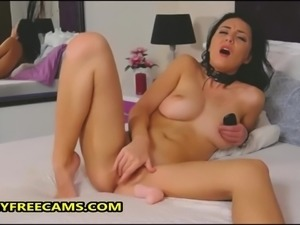 Intense Pussy Toying For Hardcore Orgasm